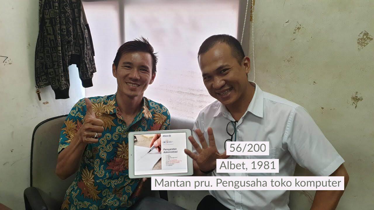 Bisnis Presentasi - Bp Albet - Pengusaha Jakarta