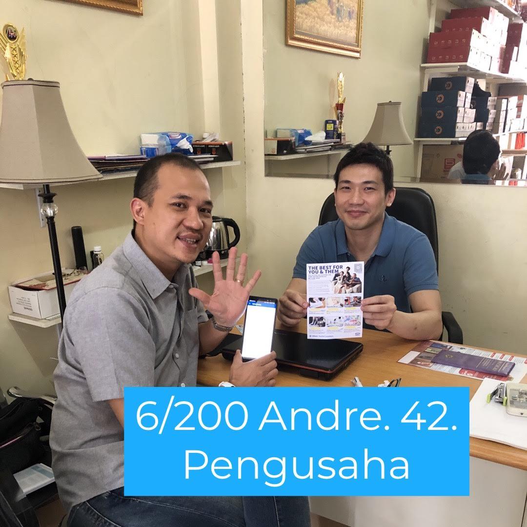 Bisnis Presentasi - Bp Andre - Pengusaha Jakarta